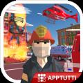 城市消防员英雄游戏