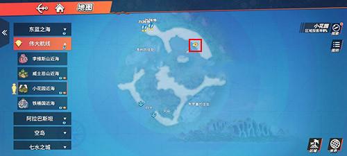 航海王热血航线藏宝图巨人之岛位置大全 藏宝图巨人之岛位置汇总[多图]