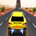 高空坡道汽车游戏