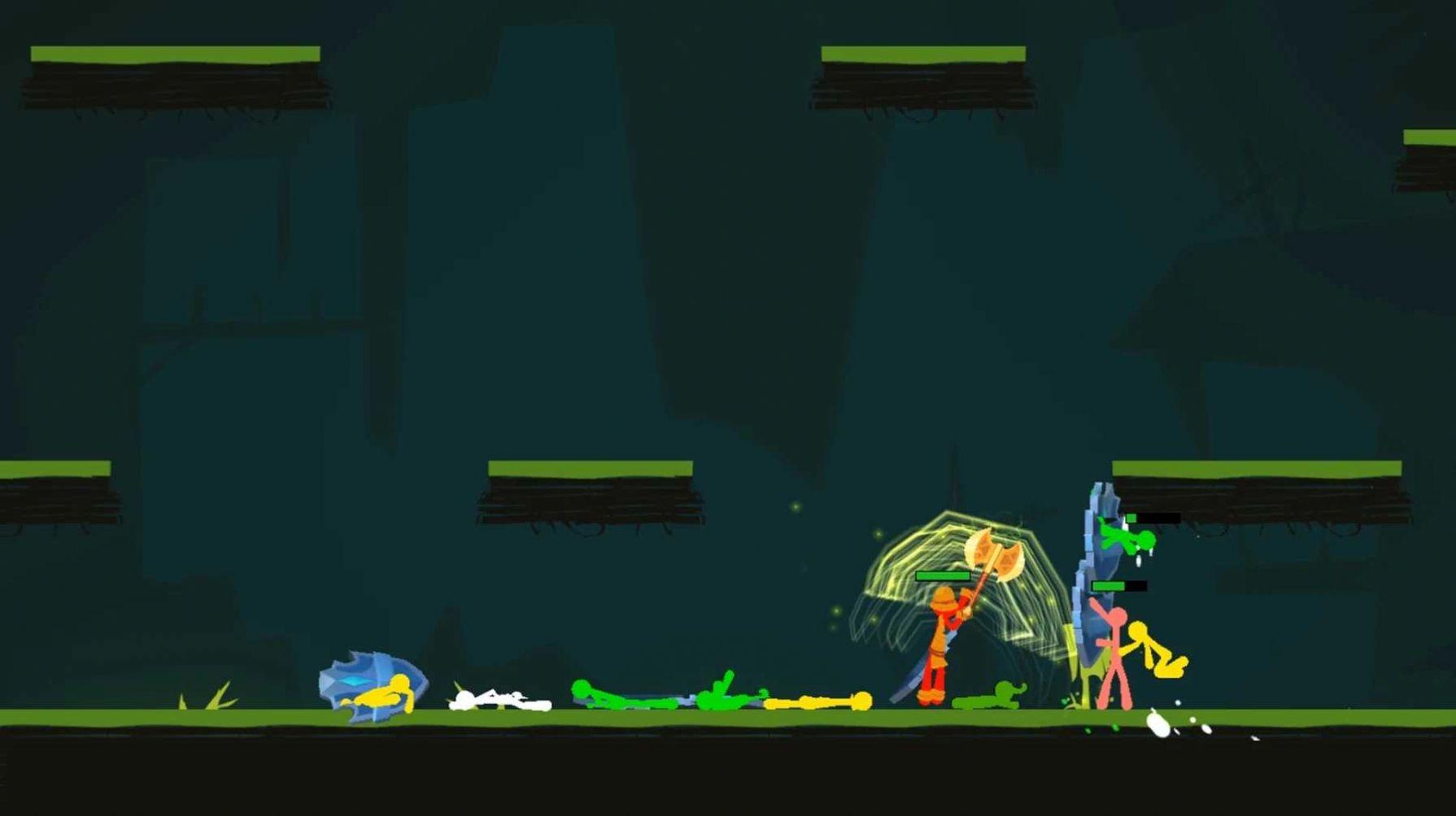 火柴人流放英雄官方游戏安卓版图片1