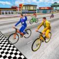 炫酷自信车赛车手3D游戏