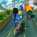 萌熊出没自行车比赛游戏