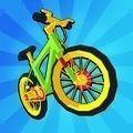 疯狂自行车竞技游戏