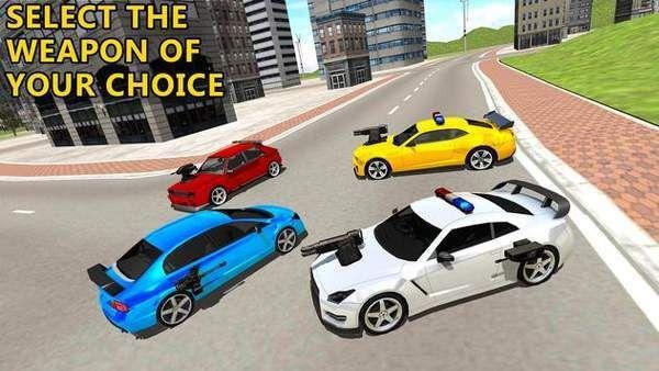 驾驶警车射击游戏图2