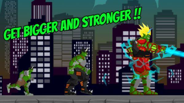 绿巨人摧毁城市游戏图1