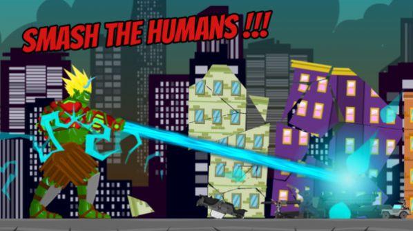 绿巨人摧毁城市游戏图2