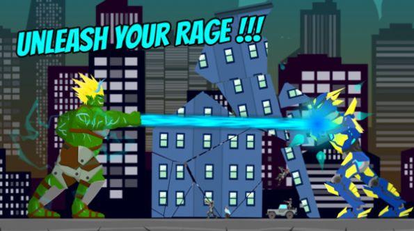 绿巨人摧毁城市游戏图3