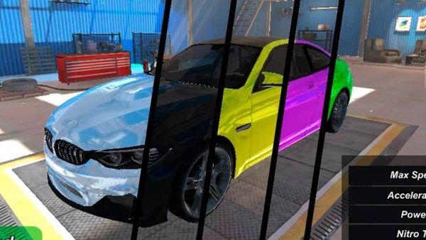 街头飙车3D游戏图1