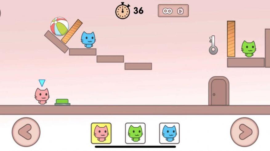 叠猫猫废朋友的小猫安卓版游戏图片1