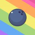 物理彩虹球游戏