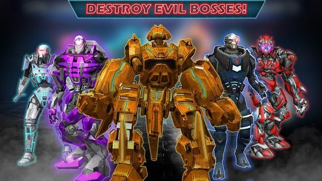 大型机器人环战游戏图1