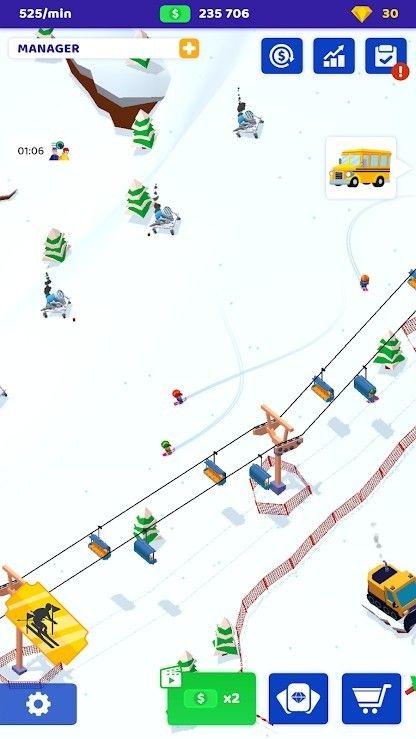 空闲滑雪大亨最新版图2