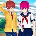 动漫高中女生模拟器3D游戏