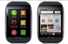 最小浏览器opera mini登陆三星gear s智能手表[图]