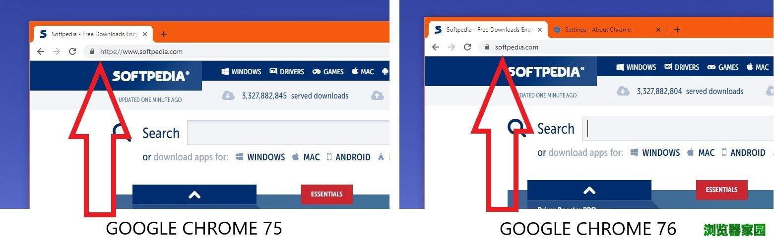 Chrome谷歌浏览器76地址栏隐藏的HTTPS和WWW标记如何恢复[多图]图片2